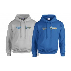 Manchester Titans - Customised Embroidered Hoodie