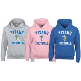 Manchester Titans - Youth Football Logo Hoodie
