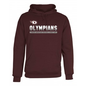 London Olympians - Printed Split Text Poly Fleece Hoodie