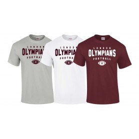 London Olympians - Custom Ball Logo T-Shirt 2