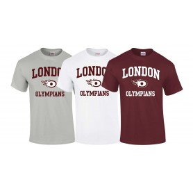 London Olympians - Olympians Football Logo T-Shirt