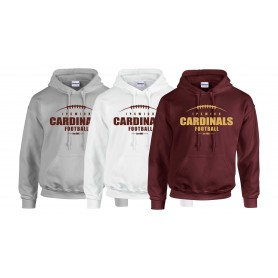 Ipswich Cardinals - Laces Logo Hoodie
