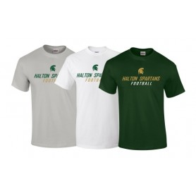 Halton Spartans - Text Logo T-Shirt 1