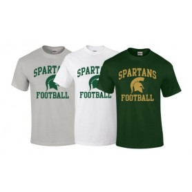 Halton Spartans - Football Logo T-Shirt