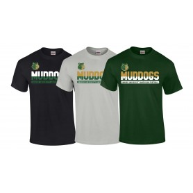 Bangor Mud Dogs - Athletic Split Text Logo T-Shirt