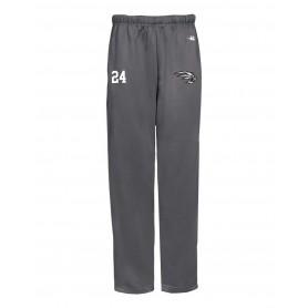 Lancashire Wolverines - Custom Embroidered Badger Open Bottom Joggers