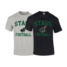 HACL Stags - Football Logo T-Shirt