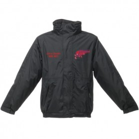 HACL Raptors - Custom Embroidered Heavyweight Dover Rain Jacket