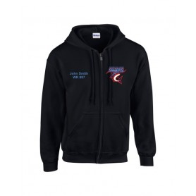 HACL Sharks - Custom Embroidered Zip Hoodie