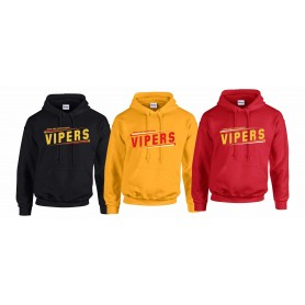 Donegal Derry Vipers - Slanted Text Logo Hoodie