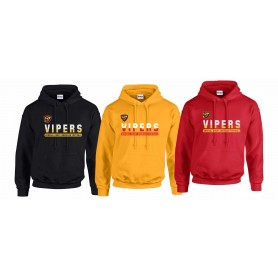 Donegal Derry Vipers - Atheltic Split Text Logo Hoodie