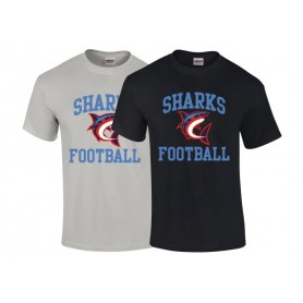 HACL Sharks - Football Logo T-Shirt