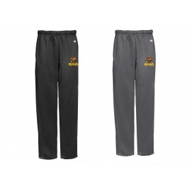 Donegal Derry Vipers - Embroidered Badger Open Bottom Joggers