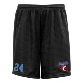HACL Sharks - Custom Embroidered Mesh Shorts