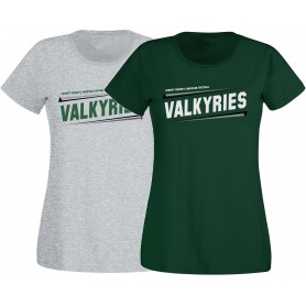 Cardiff Valkyries - Women's Fit Slanted Logo T-Shirt