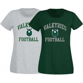 Cardiff Valkyries - Women's Fit Football Logo T-Shirt