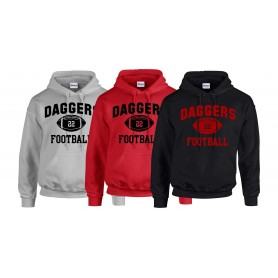 ICENI - Daggers Custon Ball Logo Hoodie