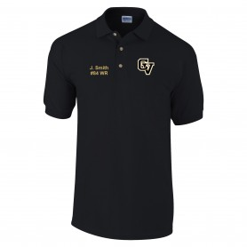Clyde Valley Blackhawks - CV Custom Embroidered Polo Shirt