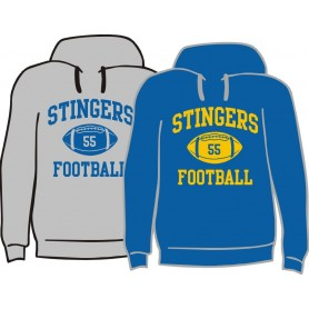 Surrey Stingers - Custom Ball Logo Hoodie 1