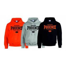 Tamworth Phoenix - Custom Ball Logo Hoodie 1