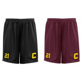 Nottingham Ceasars - Custom Embroidered Mesh Shorts