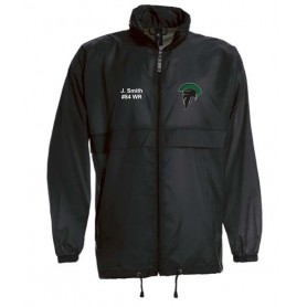 AFC Spartans - Custom Lightweight College Rain Jacket