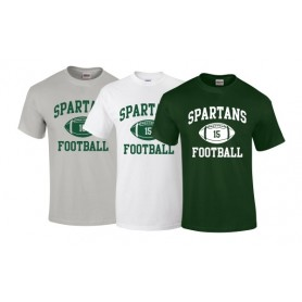 AFC Spartans - Custom Ball Logo T-Shirt 1