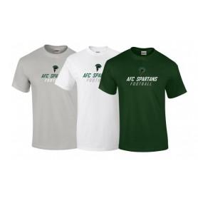 AFC Spartans - Text Logo T-Shirt 1