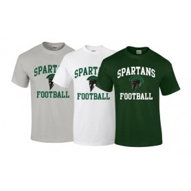 AFC Spartans - Football Logo T-Shirt