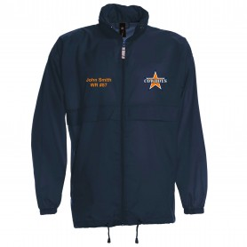 Craigavon Cowboys - Lightweight College Rain Jacket