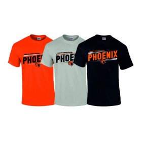 Tamworth Phoenix - Slanted T-Shirt