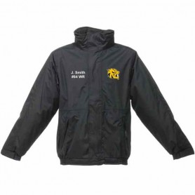 Glasgow University Tigers - Custom Embroidered Heavyweight Dover Rain Jacket