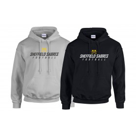 Sheffield Sabres - Text Logo Hoodie