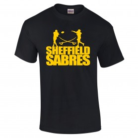 Sheffield Sabres - Silhouette Logo T-Shirt