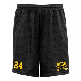 Sheffield Sabres - Custom Embroidered Mesh Shorts