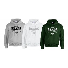 Nottingham Bears - Custom Ball Logo 2 Hoodie
