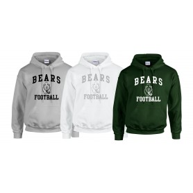 Nottingham Bears - Football Logo Hoodie