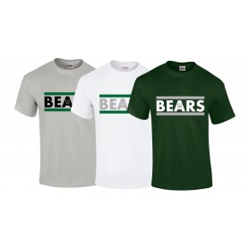 Nottingham Bears - Stripe Logo T-Shirt