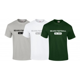 Nottingham Bears - Established 2013 Logo T-Shirt