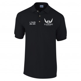 Bedford Blackhawks - Customised Embroidered Polo Shirt