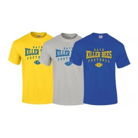 Bath Killer Bees - Custom Ball Logo T-Shirt 2
