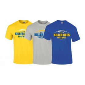 Bath Killer Bees - Laces Logo T-Shirt