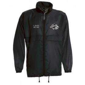Bucks Wolves - Lightweight College Rain Jacket