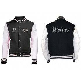 Bucks Wolves - Embroidered Varsity Jacket