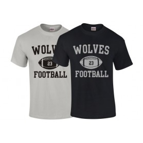 Bucks Wolves - Custom Ball Logo T-Shirt 1