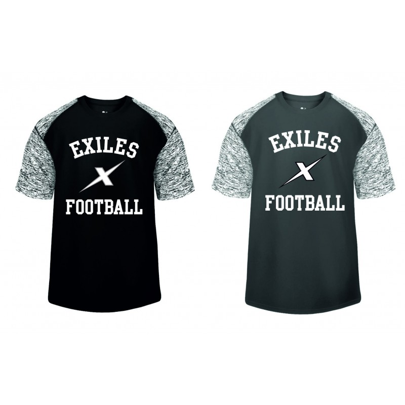 Kent Exiles - Printed Blend Performance Tee
