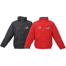 Cork Admirals - Embroidered Heavyweight Dover Rain Jacket