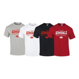 Cork Admirals - Custom Ball Logo T-Shirt 2
