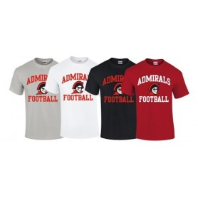 Cork Admirals - Football Logo T-Shirt