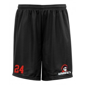 Cork Admirals - Embroidered Mesh Shorts